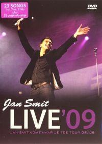 Cover Jan Smit - Live '09 - Jan Smit Komt Naar Je Toe Tour 08 / 09 [DVD]